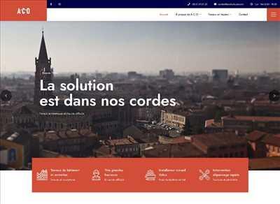 Exemple webmaster freelance n°305 zone Haute-Garonne par Jérôme Chesnot