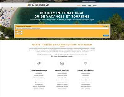 Exemple webmaster freelance n°309 zone Haute-Garonne par Jérôme Chesnot