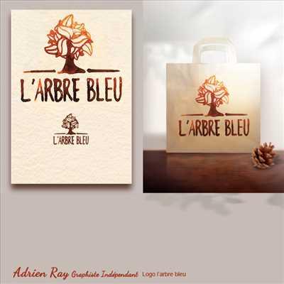 Exemple créateur de logo freelance n°85 zone Hérault par Adrien